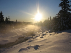 Malmlaft sponser sesongåpningen i skiskyting.