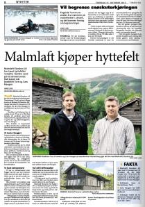 Faksimile: Lokalavisa Sør-Østerdal