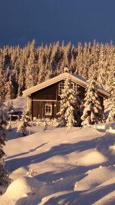 Vinterstemning Sjusjøen julen