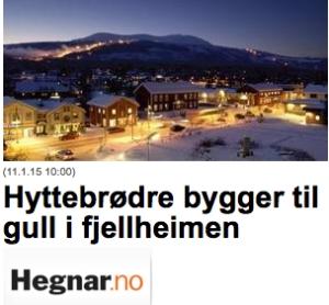 Finansavisen omtalte veksten til Malmlaft i sin nettutgave 11. januar 2015. Her er Faksimile  fra Hegnar.no.