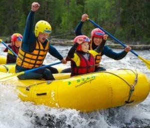 Sommeraktiviteter på fjellet_familierafting_Malmlaft